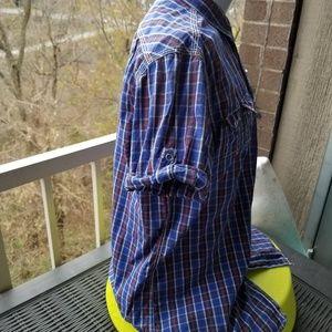 Ben Sherman Shirts - Ben Sherman Plaid Buttondown Short Sleeve